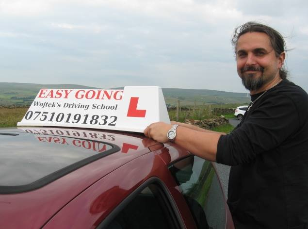 driving lesson in Burnley Nelson Colne po polsku